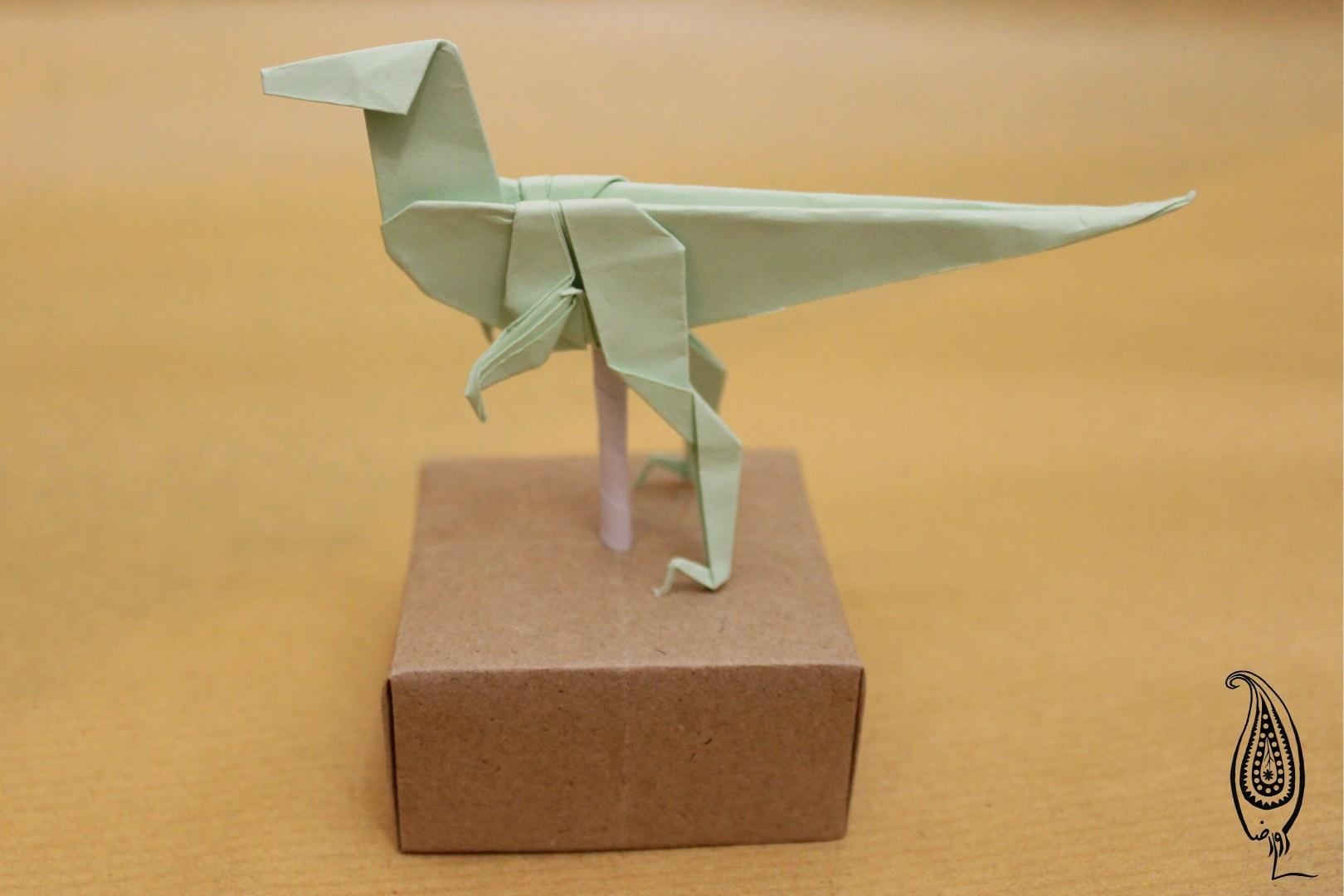 اوریگامی دایناسور