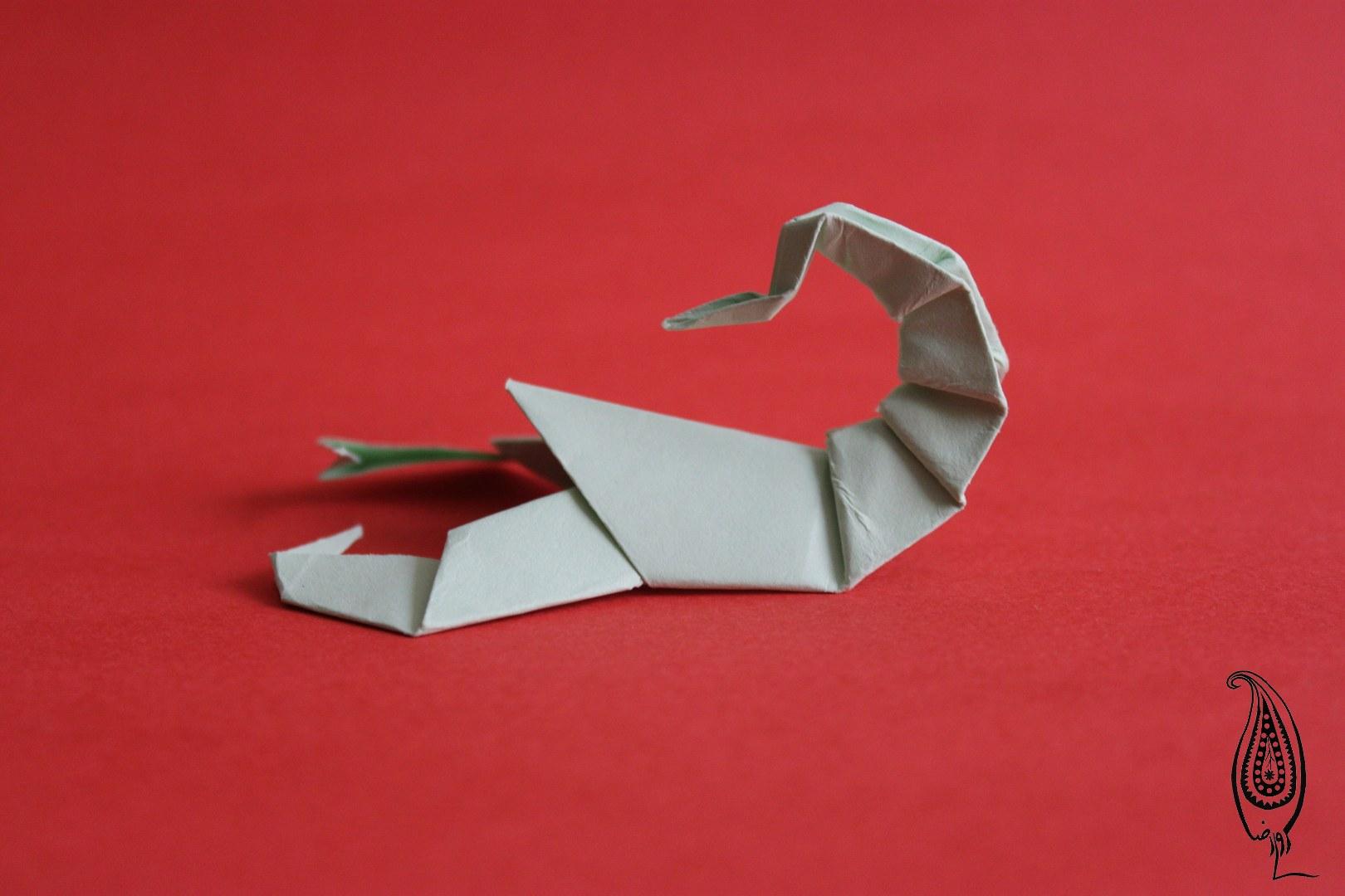 اوریگامی عقرب