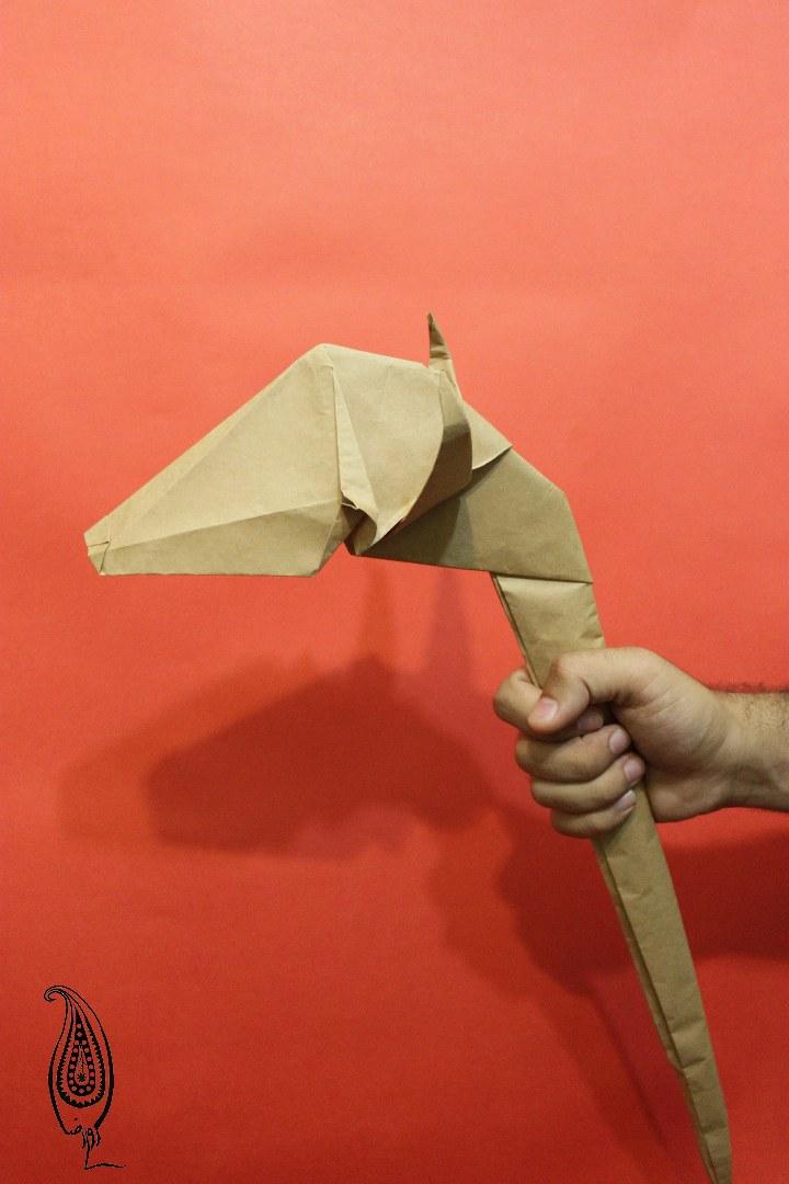 اوریگامی گرز گاو سار