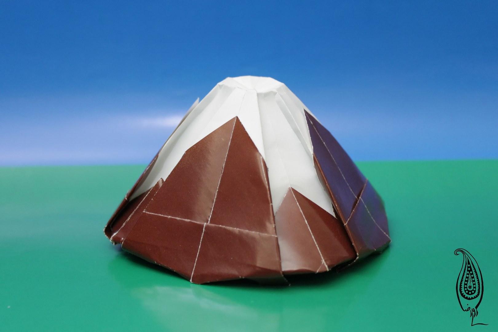 اوریگامی دماوند2