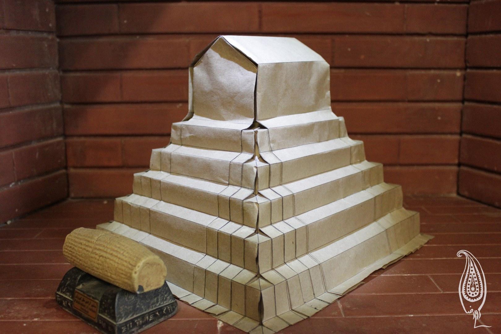 اوریگامی مقبره کورش کبیر